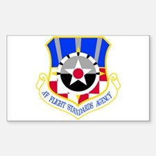 Flight Standards Agency Sticker (Rectangle)