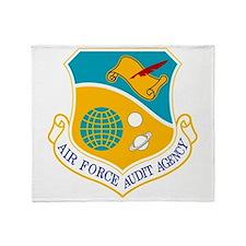 AF Audit Agency Throw Blanket