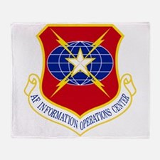 Information Operations Center Throw Blanket
