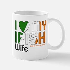 I Love My Irish Wife Mugs