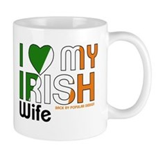 I Love My Irish Wife Mugs
