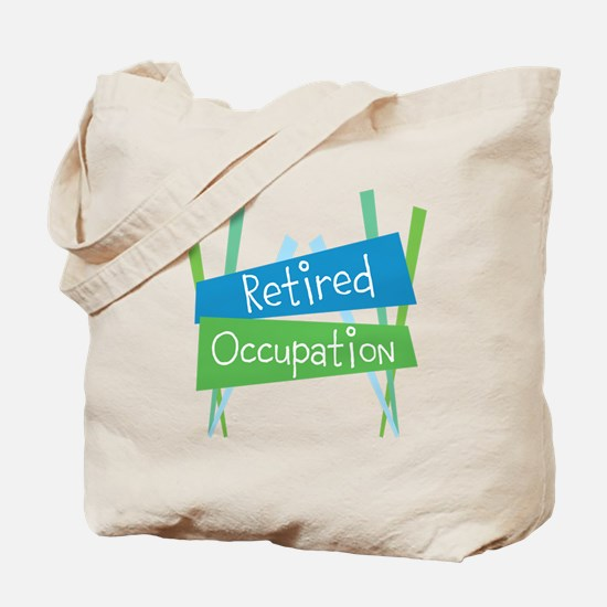 Customize Retired Tote Bag