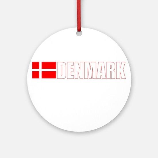 Denmark Ornament (Round)