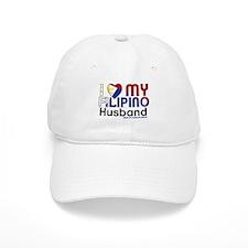 I Heart My Filipino Husband Baseball Baseball Cap