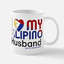 I Heart My Filipino Husband Mugs