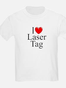 """I Love (Heart) Laser Tag"" T-Shirt"