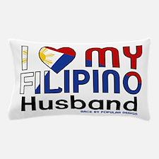 I Heart My Filipino Husband Pillow Case