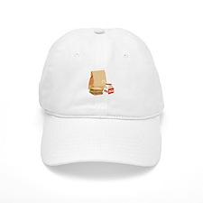 Paper Bag Milk Sandwich Baseball Baseball Cap
