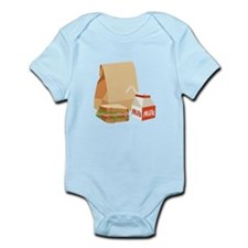 Paper Bag Milk Sandwich Body Suit