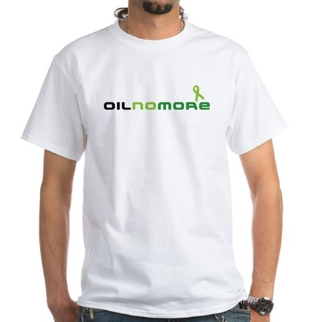 Oil No More White T-Shirt