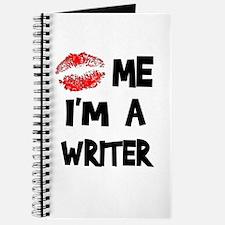 Kiss Me I'm A Writer Journal
