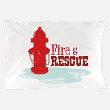 Fire And Rescue Pillow Case