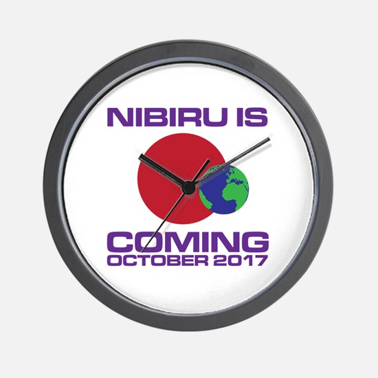 Unique Nibiru Wall Clock