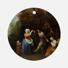 The Country Dance Ornament (Round)
