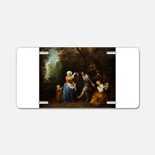 The Country Dance Aluminum License Plate