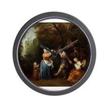 The Country Dance Wall Clock