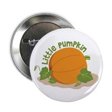 "Little Pumpkin 2.25"" Button (100 pack)"
