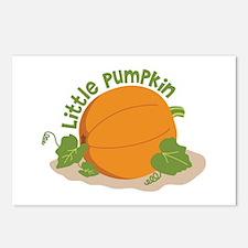Little Pumpkin Postcards (Package of 8)