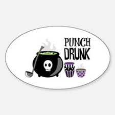 PUNCH DRUNK Decal