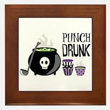 PUNCH DRUNK Framed Tile