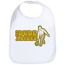 The Dude Abides Bib
