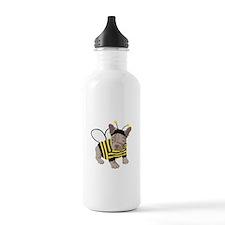 Halloween French Bulldog Bumble Bee Water Bottle