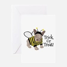 Trick Or Treat! Greeting Cards