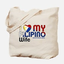 I Love My Filipino Wife Tote Bag