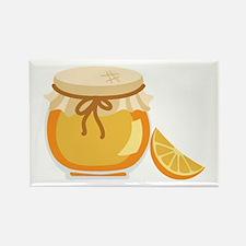 Orange Marmalade Jelly Jar Magnets