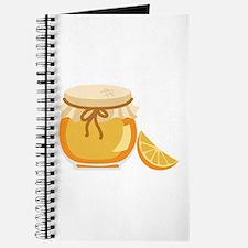 Orange Marmalade Jelly Jar Journal