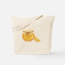 Orange Marmalade Jelly Jar Tote Bag