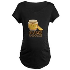 ORANGE MARMALADE Maternity T-Shirt