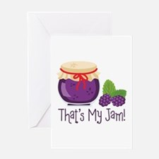 Thats My Jam! Greeting Cards