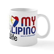 I Love My Filipino Wife Mugs