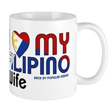 I Love My Filipino Wife Mugs