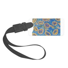 Unique Sunflowers Small Luggage Tag