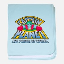 Captain Planet baby blanket