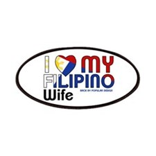 I Love My Filipino Wife Patches
