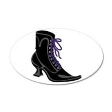 Witch Shoe Wall Decal