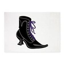 Witch Shoe 5'x7'Area Rug