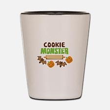 Cookie Monster Shot Glass