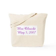 Mrs Obrecht   May 5, 2007 Tote Bag