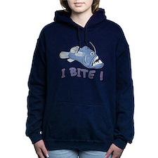 Blue Piranha - I Bite Hooded Sweatshirt