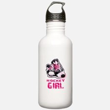 hockey girl Water Bottle