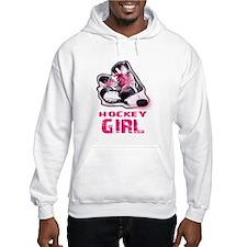 hockey girl Hoodie