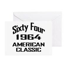 50th Gifts, 1964 American Classic Greeting Cards