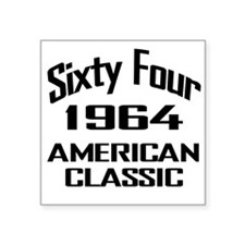 50th Gifts, 1964 American Classic Sticker