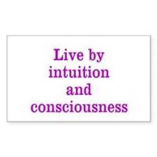 Intuition Consciousness Decal