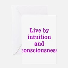 Intuition Consciousness Greeting Cards
