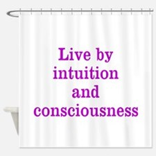 Intuition Consciousness Shower Curtain